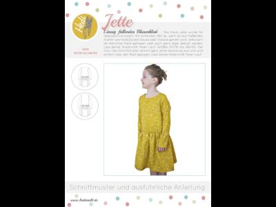 Papierschnittmuster Hedi - Kleid Jette - Mädchen