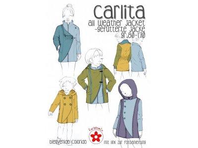 Schnittmuster Carlita All Weather Jacket gefütterte Jacke