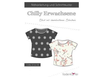 Papier-Schnittmuster Fadenkäfer CHILLY Shirt Damen