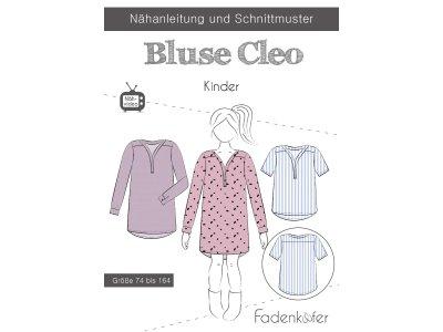 Papier-Schnittmuster Fadenkäfer - Bluse CLEO - Kinder