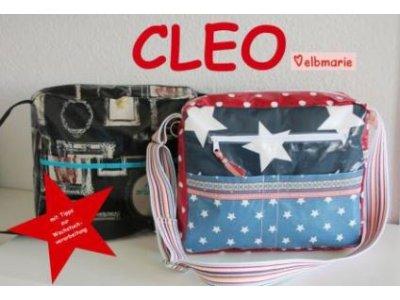 Papierschnittmuster elbmarie große Allroundtasche CLEO - Tasche
