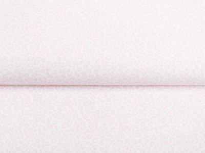 Webware Baumwolle Popeline - Animalprint - weiß