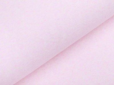 Interlock-Jersey - meliert rosa
