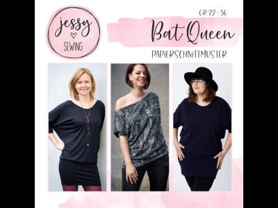 """Papier-Schnittmuster Jessy Sewing - Oberteil """"Bat Queen"""" - Damen"""