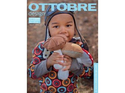 Ottobre design Kids Herbst 4/2014 französisch mit deutscher Anleitung