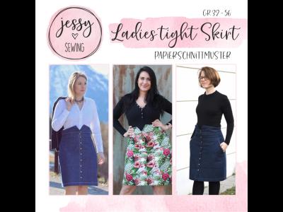 "Papier-Schnittmuster Jessy Sewing - Rock ""Ladies Tight Skirt"" - Damen"