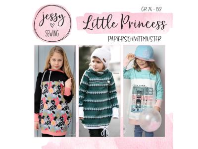 "Papier-Schnittmuster Jessy Sewing - Kleid ""Little Princess"" - Kinder"