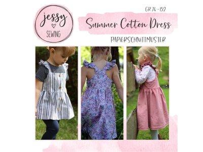 "Papier-Schnittmuster Jessy Sewing - Kleid ""Summer Cotton Dress"" - Kinder"