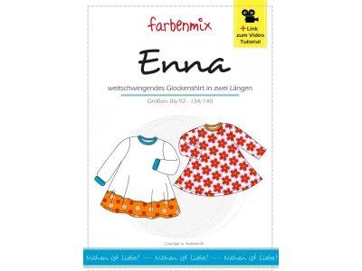 Schnittmuster ENNA Shirt Farbenmix