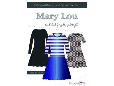 Papier-Schnittmuster Fadenkäfer MARY LOU Kleid Damen