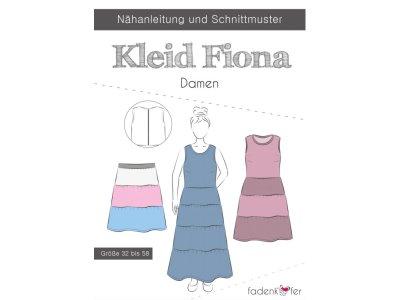 Papier-Schnittmuster Fadenkäfer - Kleid FIONA - Damen