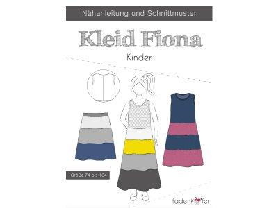 Papier-Schnittmuster Fadenkäfer - Kleid FIONA - Kinder