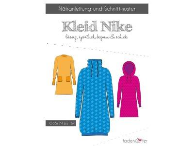 Papier-Schnittmuster Fadenkäfer Nieke Kleid Mädchen