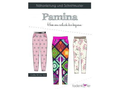 Papier-Schnittmuster Fadenkäfer Pamina Hose Mädchen und Junge