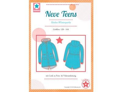 Papierschnittmuster Farbenmix Herbst-7 Winterparka NEVE TEENS - Mädchen