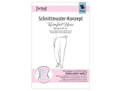 Papierschnittmuster Farbenmix Komfort - Hose - Damen