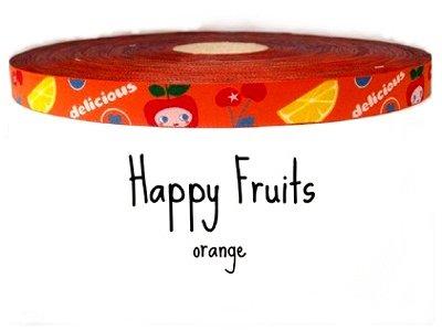 """Webband """"Happy Fruits"""" orange"""