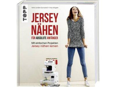 """Buch """"Jersey Nähen - Absolute Anfänger"""""""