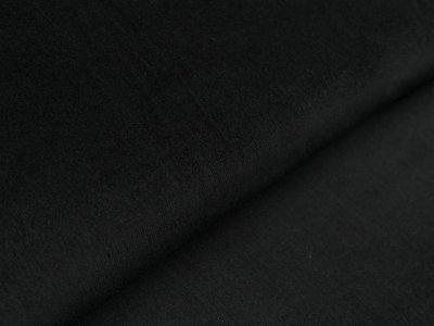 Feincord Babycord - uni - schwarz