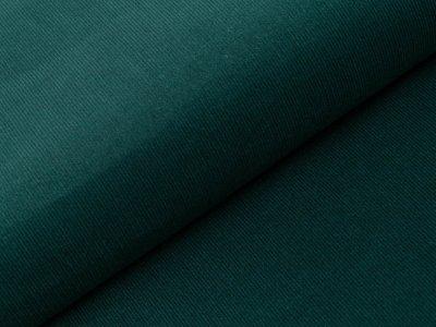 Feincord Babycord - uni - dunkles waldgrün