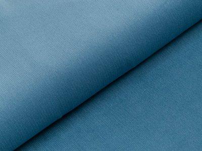 Feincord Babycord - uni - jeansblau