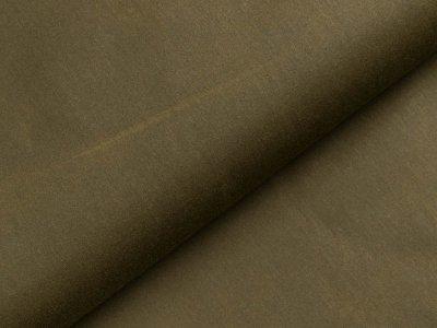 Oilskin gewachste Baumwolle Heavy - uni Khaki