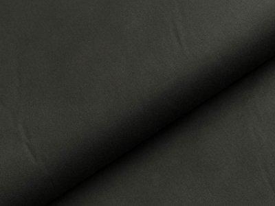 Oilskin gewachste Baumwolle -  uni dunkles grün