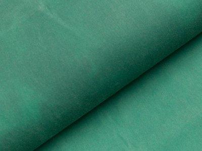 Oilskin gewachste Baumwolle -  uni grün