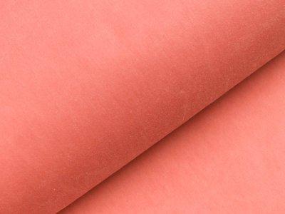 Oilskin gewachste Baumwolle -  uni altrosa