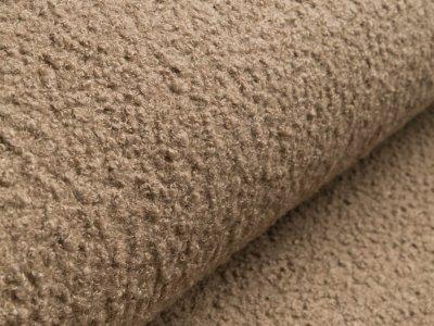 Bouclé Mantelstoff - uni sand