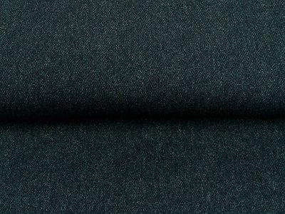 Sweat French Terry Digitaldruck by Poppy - Jeansoptik - anthrazit