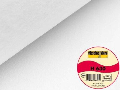 Volumenvlies H630 fixierbar Vlieseline 90 cm breit weiß