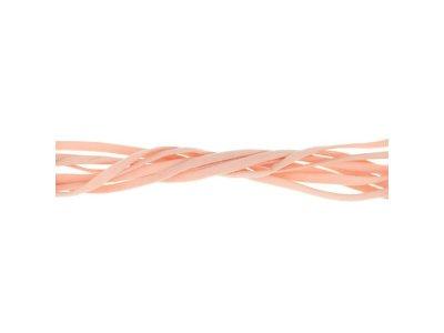 Elastisches Gummiband rund 5 mm - helles rosa