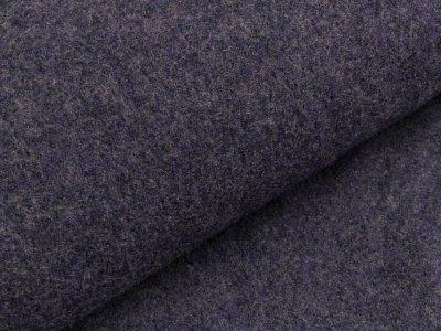 Walkloden - meliert lila/grau