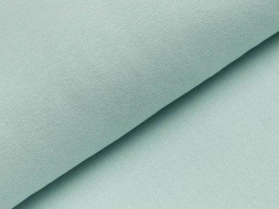 Glattes Bündchen im Schlauch - uni pastellmint