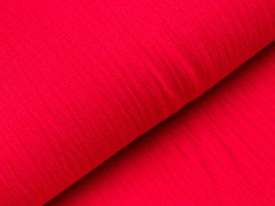 Musselin Double Gauze - uni rot