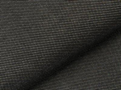 Jacquard  - kleine Tupfen - schwarz