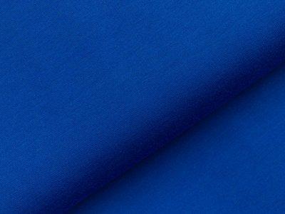 Leicht angerauter Sweat - uni königsblau