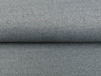Strickstoff Melange Dolissimo Brushed - meliert grau