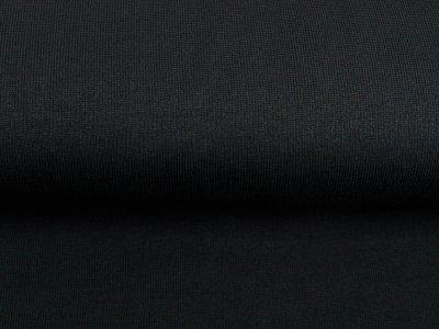 Strickstoff Dolissimo Brushed -  uni schwarz
