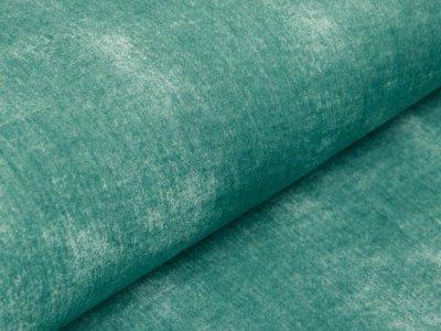 Musselin Baumwolle Hydrofiel Double Gauze Snoozy - zerknitterte Jeansoptik - uni altgrün