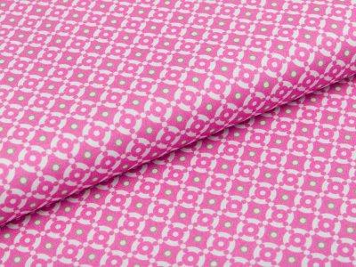 Webware Baumwolle Swafing Jasmin -  Kreise - pink