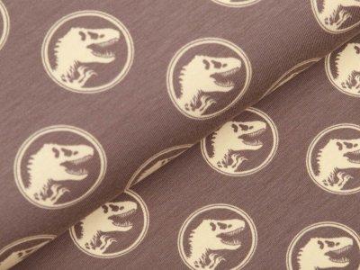 Jersey Digitaldruck Jurassic World - Dinos im Kreis - schlamm