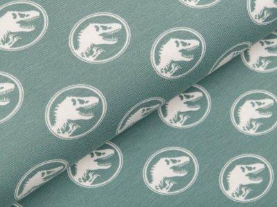 Jersey Digitaldruck Jurassic World - Dinos im Kreis - altmint