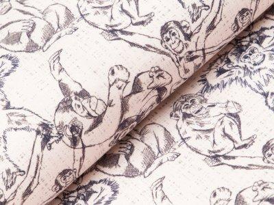Sweat Swafing Monkeys by Cherry Picking - Affen - helles beige