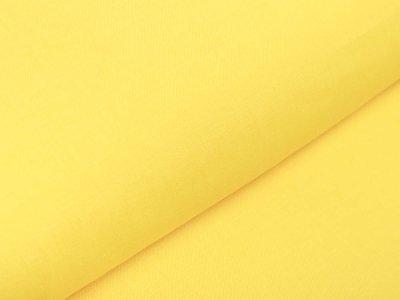 Italienische Webware Leinen - uni gelb