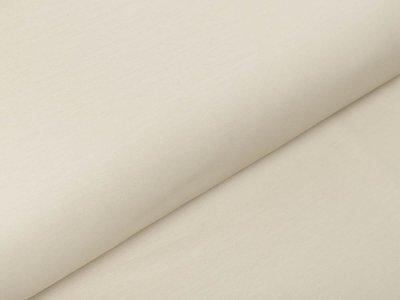 Italienische Stretch Webware Baumwolle - leicht glänzend - uni beige