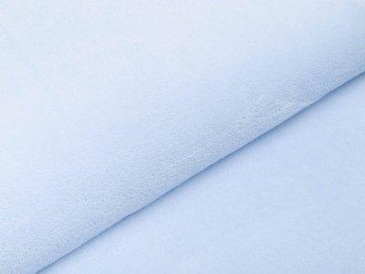 Wellnessfleece Teddyplüsch - uni helles blau