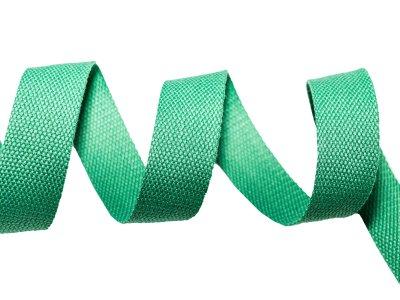 Gurtband Baumwolle 5 Meter Rolle - 30 mm - uni dunkles grün