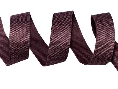 Gurtband Baumwolle 5 Meter Rolle - 30 mm - uni altlila